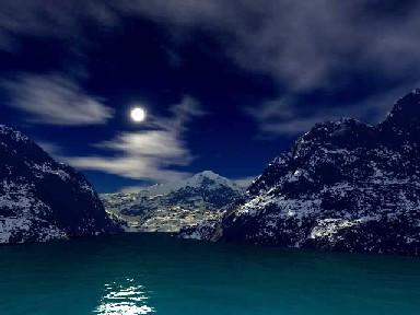 我在遥望,月亮之上