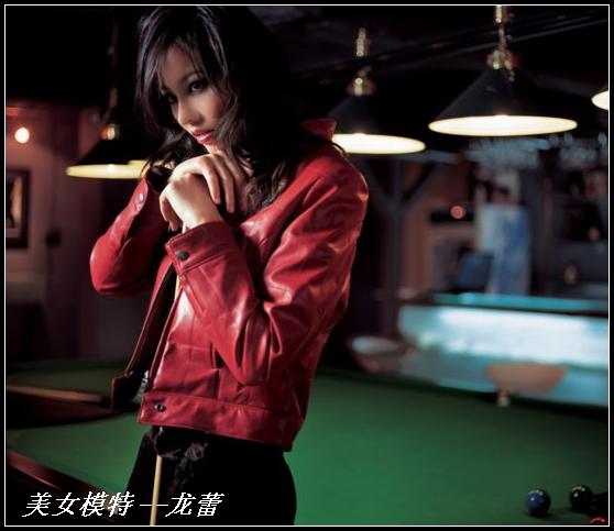 美女模特--龙蕾